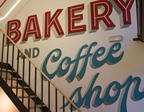 BAKERY AND COFFEE SHOP • MURAL