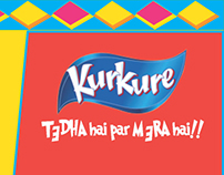 KURKURE Press Advertisement