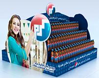 Pepsi floors