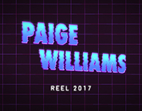 Paige Williams 2017 Demo Reel