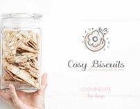 Cosy Biscuits Logo Design