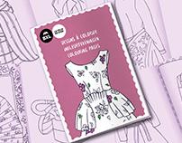 Carnet de coloriage - Musée du Costume & de la Dentelle