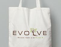 Evolve logo and branding