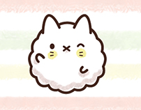 Popcorn Cat - Character - LINE and iMessage Stickers