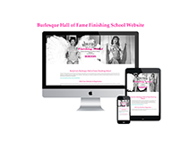 Burlesque Hall of Fame Finishing School Website