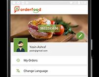 Mobile App-UI&UX - Order-Food