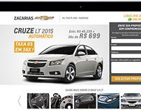 Landingpage: Zacarias Veículos