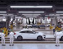 Honda -Made Mean - VFX