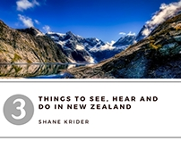 3 Things to Do in New Zealand