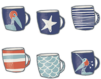 Nautical / Ocean Home Decor Pattern