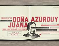 Juana Azurduy, me llaman.