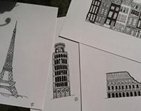 FAMOUS EUROPEAN BUILDINGS