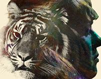 Bulletproof Tiger Poster