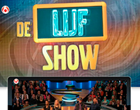 "Illustrations for the television show ""De Lijf Show"""