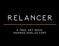 Relancer // Free Display Font