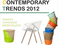 European contemporary Trends in Product Design - 2012