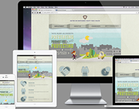 Responsive Web Layout for Montgomery County Health