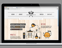 Website Design for the Hamburger Wagon