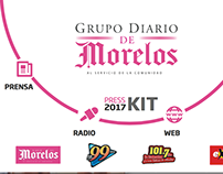 MEDIA KIT 2017 GRUPO DIARIO DE MORELOS