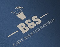 Logo design - Caffe bar & Fast Food Relax
