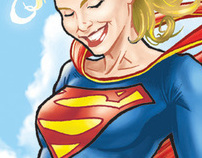Supergirl Sketch 01-2011