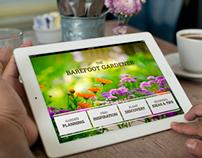 Barefoot Gardener iPad App