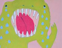 dinosaur paintings