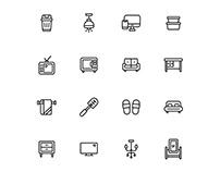Homeware Icons Set