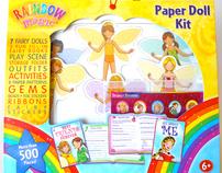 Rainbow Magic Paper Doll Kit