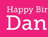 Daniel's Birthday Coupons - 2013