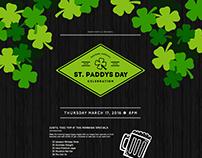 St Paddys Landing Page Design