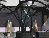 NURB Gallery[Installation using Rhinoceros CAD Software