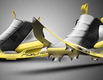 Fischer snowshoe racing