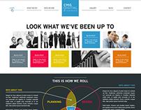 CMG Digital Local Solutions Website Re-Design