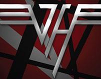 Print Ad for Van Halen concert