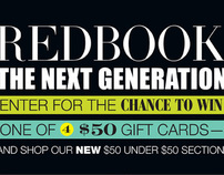 REDBOOK Magazine - Promotional Design