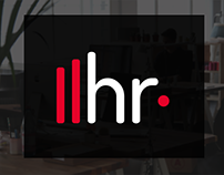 HR Tech Landing Page and branding