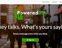 PoweredBuy/MyGoodness Logo and Splash Page