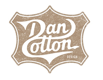 My new hand drawn, modern vintage logo.