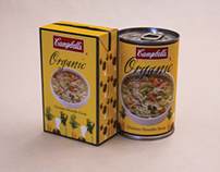 Campbell's Soup Package Design