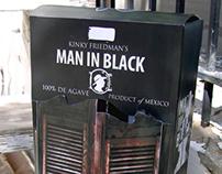 Man In Black package design