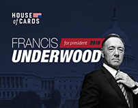 Frank Underwood · 2016 {House of Cards}