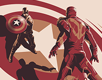 CAPTAIN AMERICA: CIVIL WAR for Poster Posse