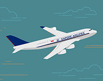 Singapore Airlines Two Million Fans Video