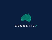 Geodetica 〰️ Brand identity design + collateral