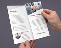 ProBiz – Business & Corporate Brochure Tri-Fold