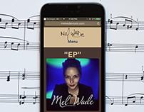 Mel Wade Music Website
