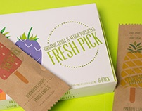 Fresh Pick – Organic Popsicle Packaging