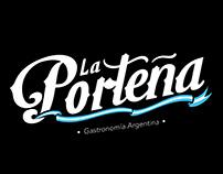 La Porteña Branding