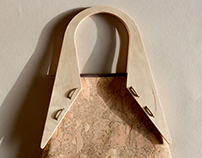 Wood and Cork | Tote bag